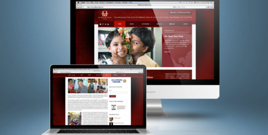 Home of Hope India Non-Profit Web Design