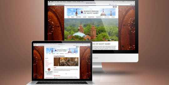 St. Mary Parish Wordpress Website Design
