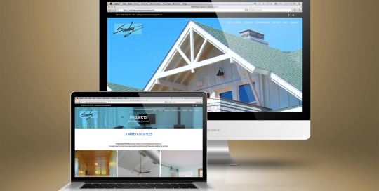 Sterling Custom Construction Responsive Web Design