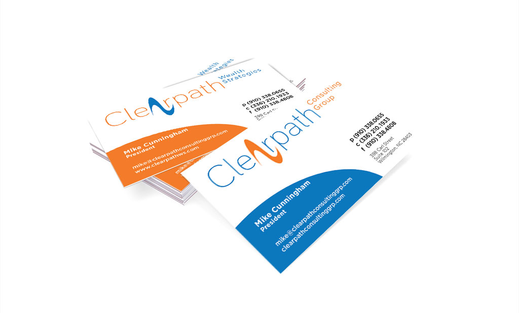 Clearpath Consulting Group Business Cards