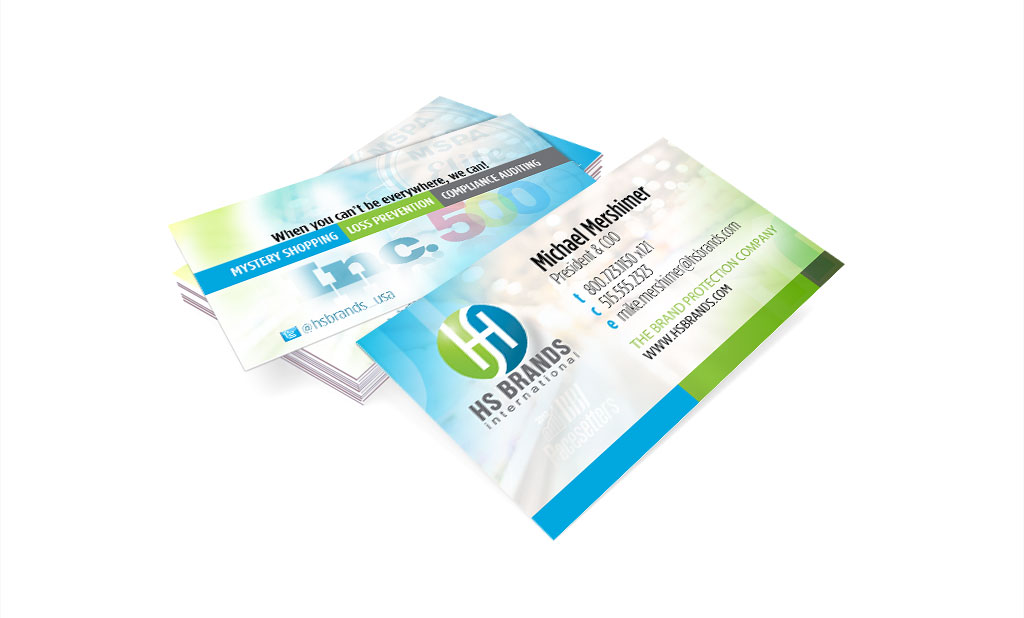 HS Brands Business Card Design